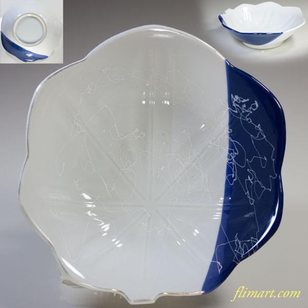 葉型六寸鉢