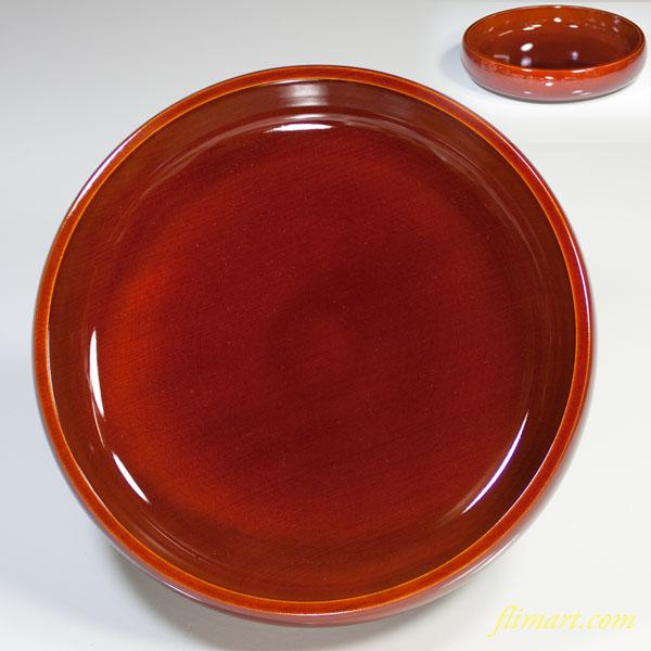 春慶塗浅菓子鉢