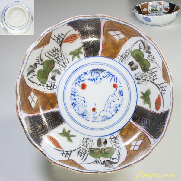 松竹梅膾皿W3012
