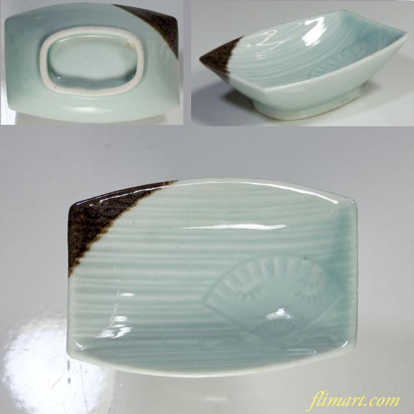青白磁豆皿小皿W3111