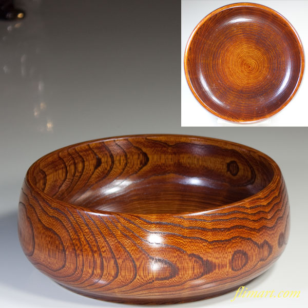 山中漆器菓子鉢W3017