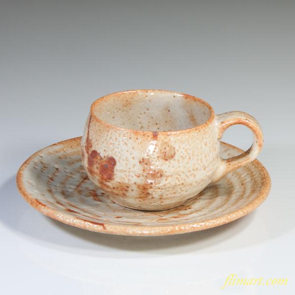 志野碗皿W3023