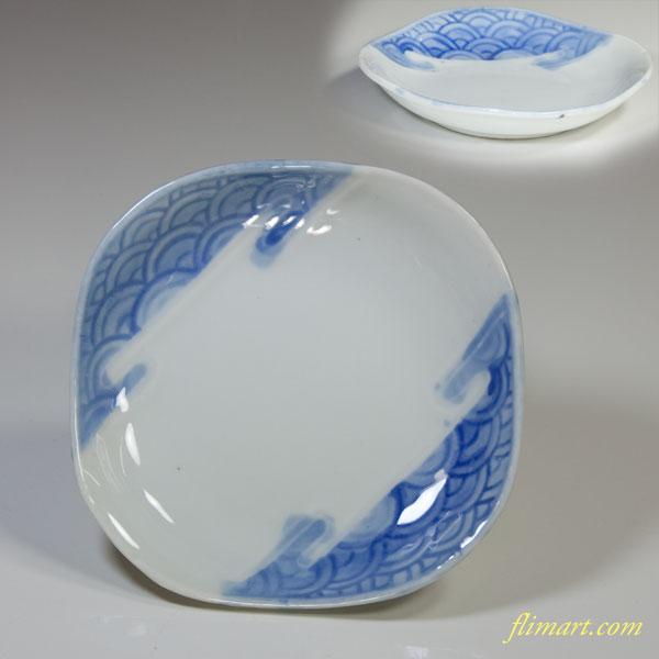 青海波小皿