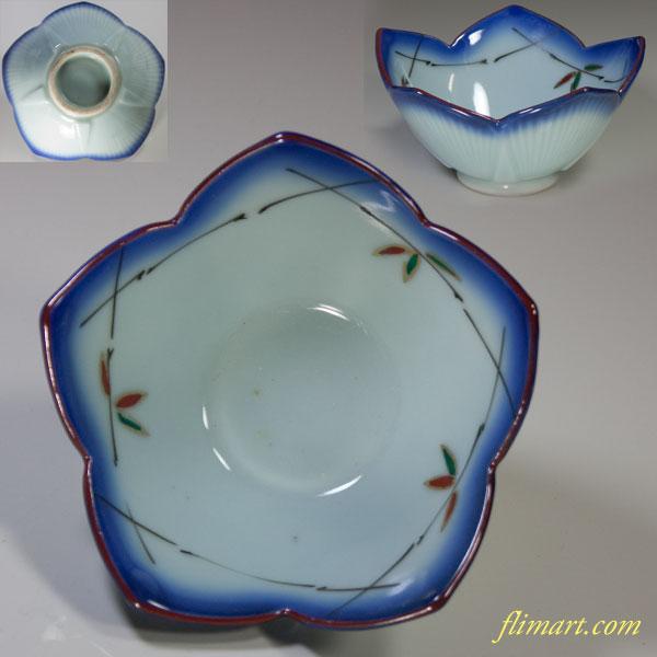 桔梗花型小鉢