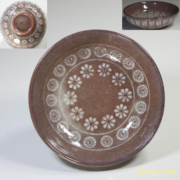 三島紋小皿