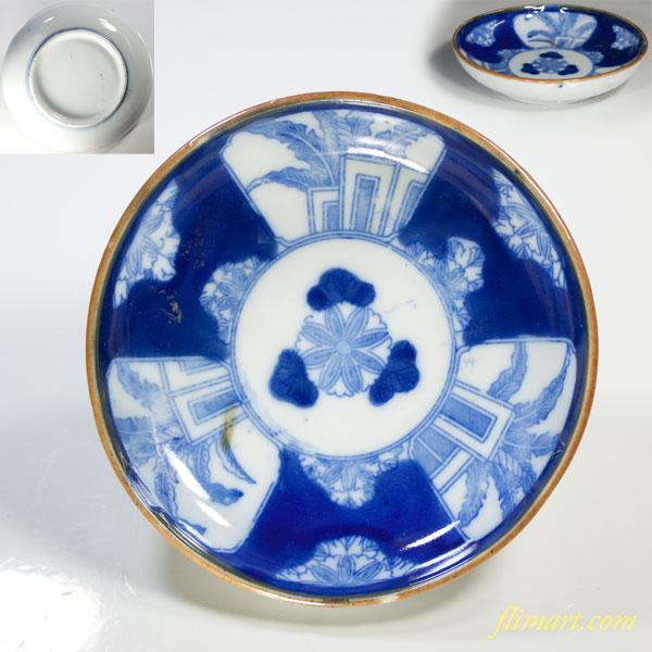 印判手小皿W3375