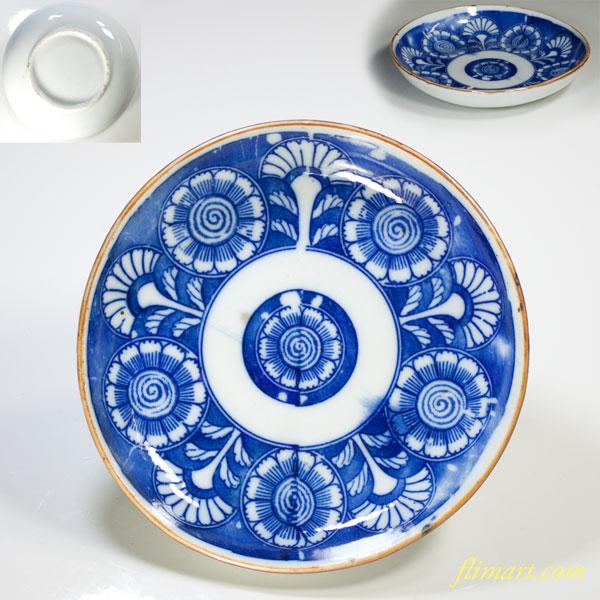 印判手小皿W3362