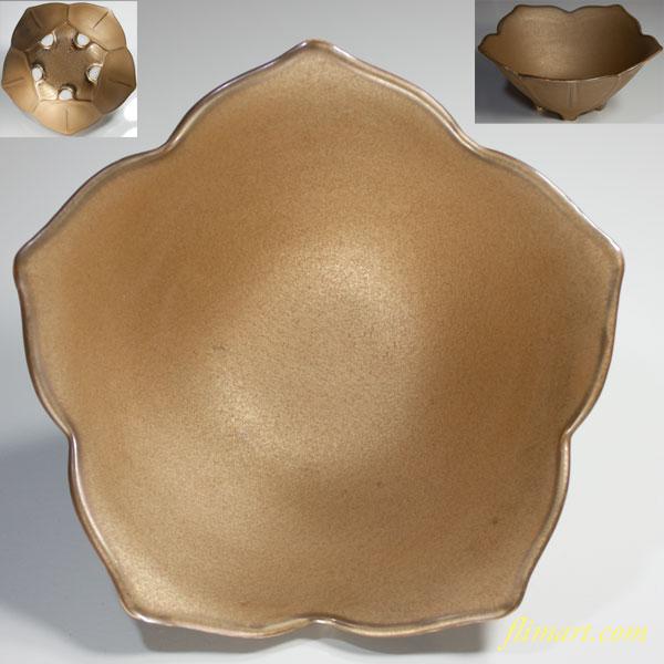 桔梗型菓子鉢R3394