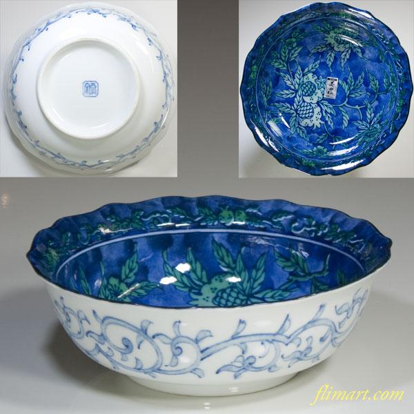 西洞窯六寸鉢