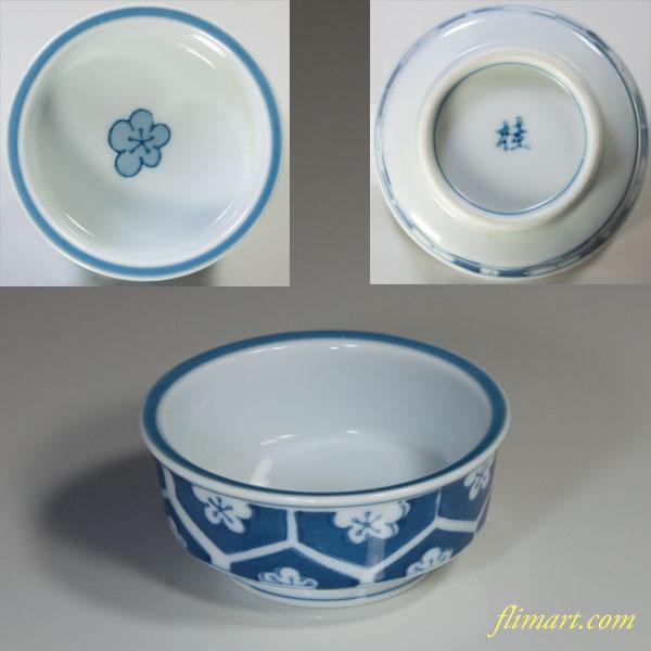 桂梅紋豆鉢