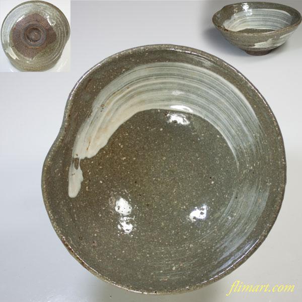 刷毛目抹茶碗W3567