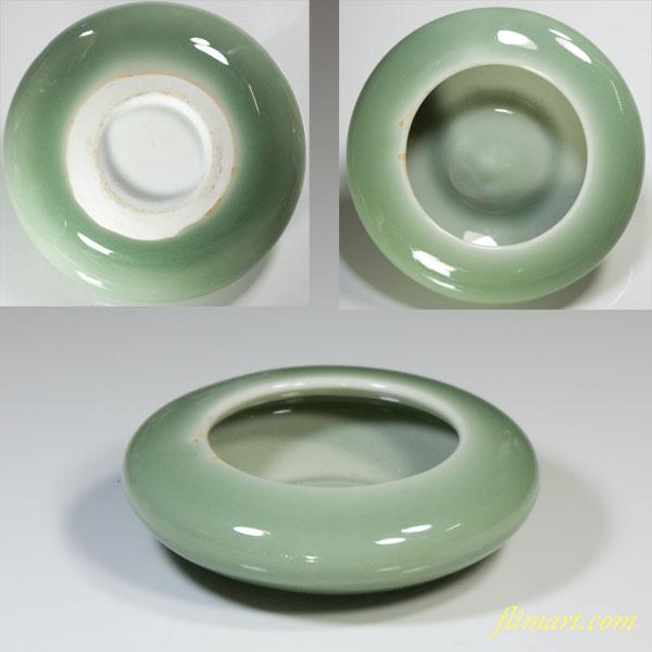 青磁灰皿W3646