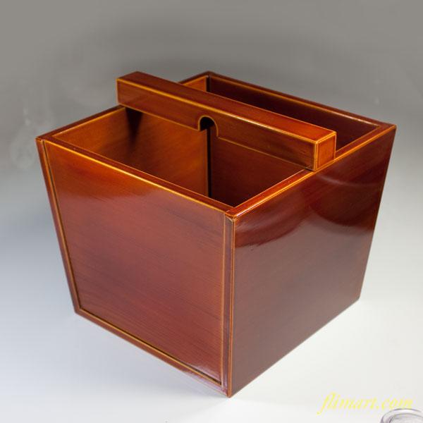 春慶塗木箱