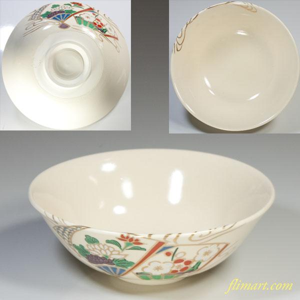 清水焼抹茶碗W3704