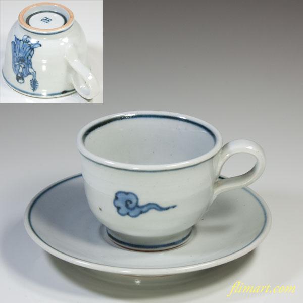 草の頭窯碗皿