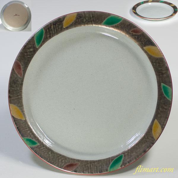 蔵珍窯銀彩六寸皿