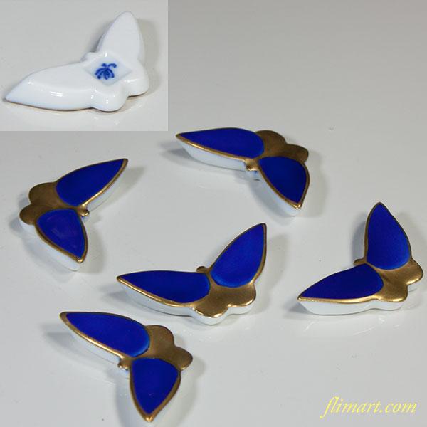 香蘭社蝶型箸置