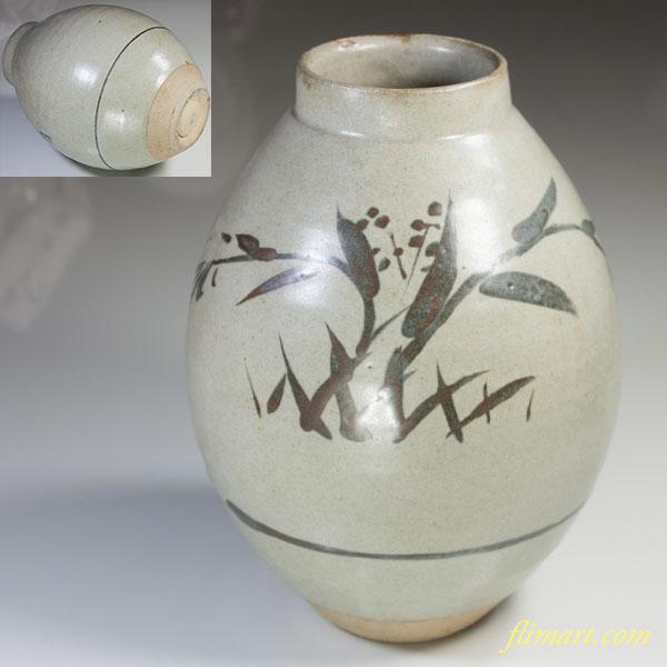 中島正雄花瓶W3827