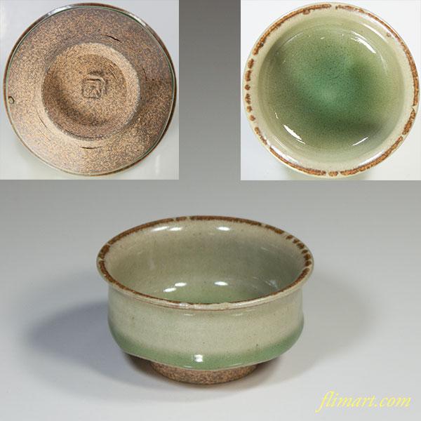 青磁豆鉢W3855