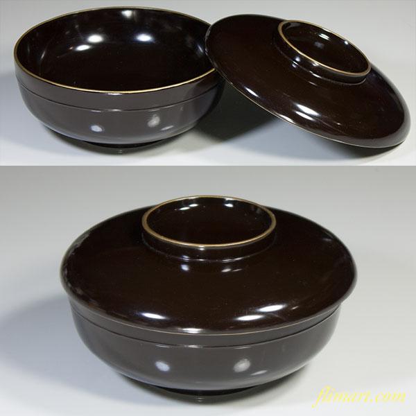 木製漆器平椀W3860