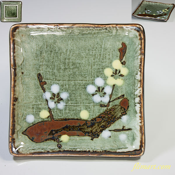 梅銘々皿W3857