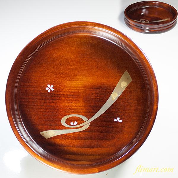木製菓子鉢W3888