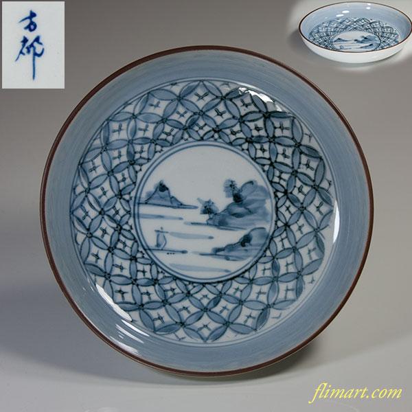 有田焼銘々皿W3897
