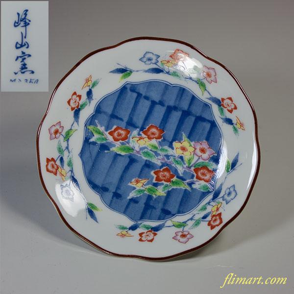 峰山窯小皿W3952