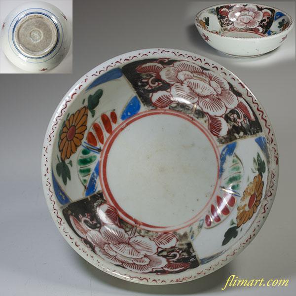 色絵小鉢W3971