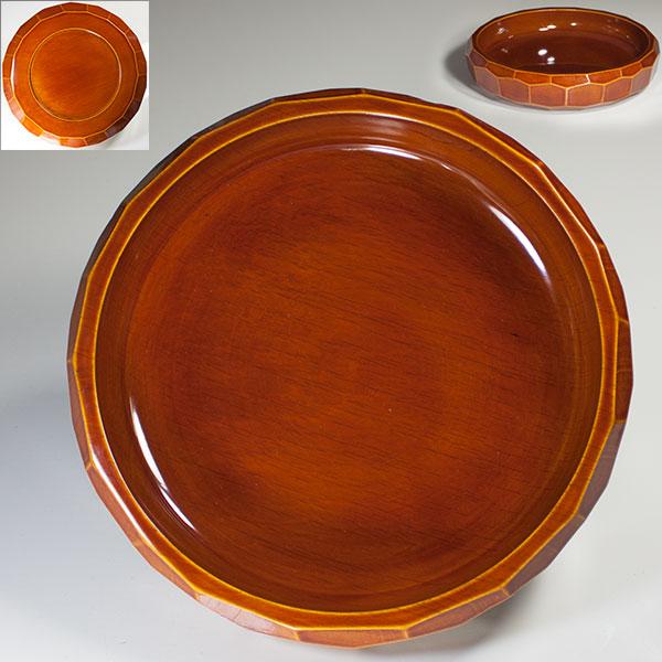 春慶塗菓子盆W3965