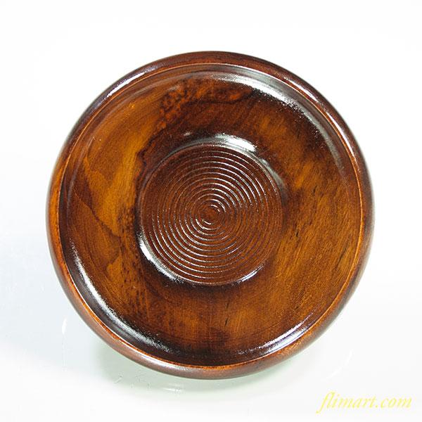 木製茶托五枚セットW4004