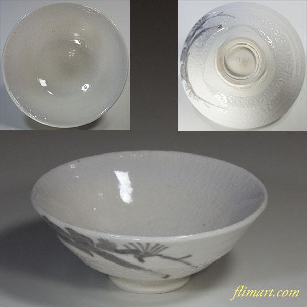 抹茶碗W4024