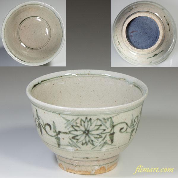 八幡窯安南抹茶碗