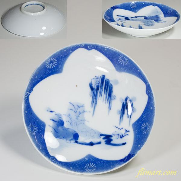 桜文小皿W4199