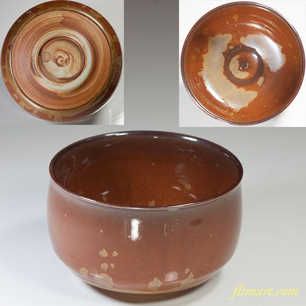 泉窯藤山抹茶碗W4208