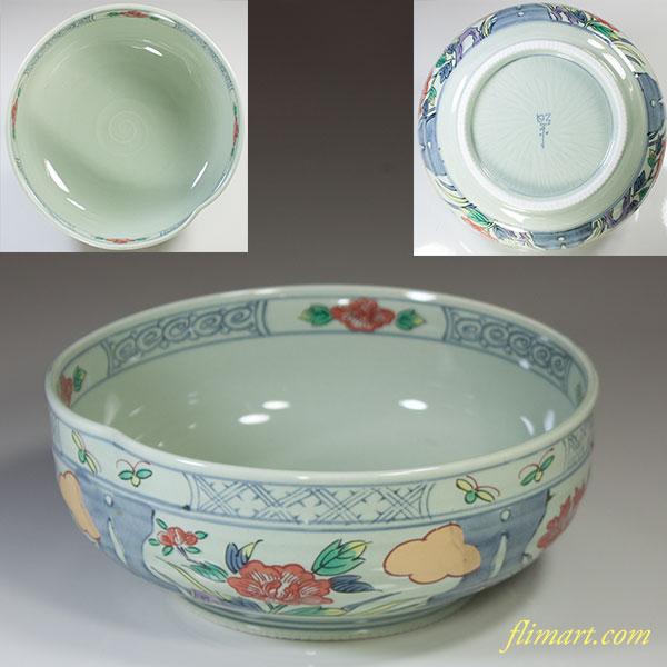 昭栄窯菓子鉢