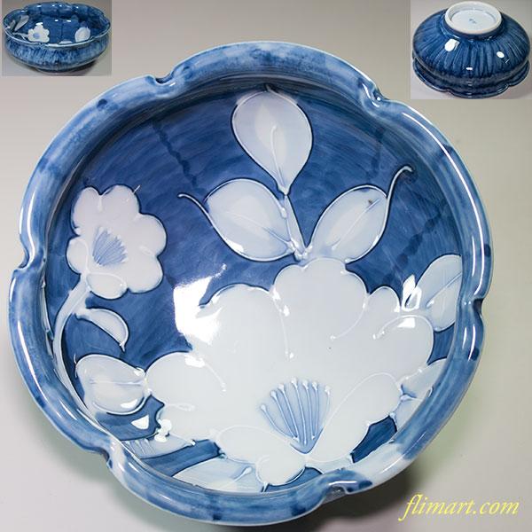 水峰菓子鉢W4277