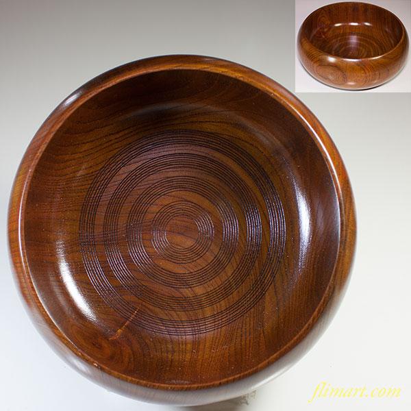 山中漆器菓子鉢W4299