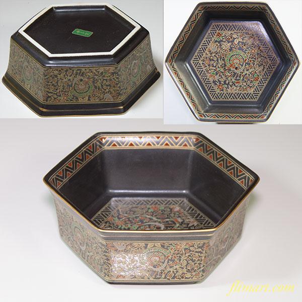 幸泉オリエント六角小鉢
