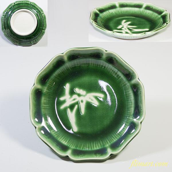 緑釉小皿W4333