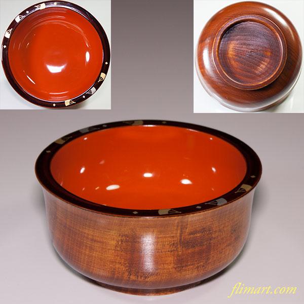山加荻村漆器店木製漆器椀