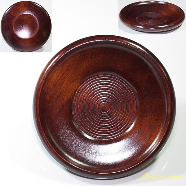 山中漆器木製茶托W4361