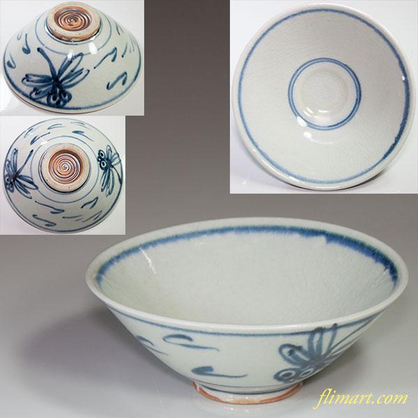 安南手蜻蛉抹茶碗