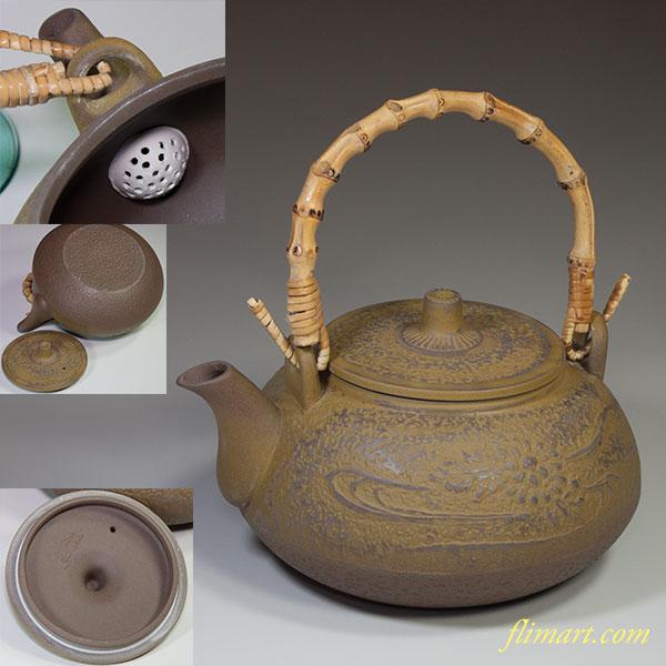美濃焼桂山窯土瓶