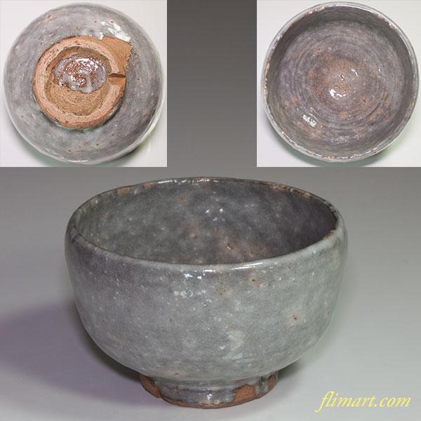 抹茶碗W4483