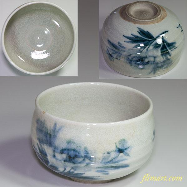 抹茶碗W4465