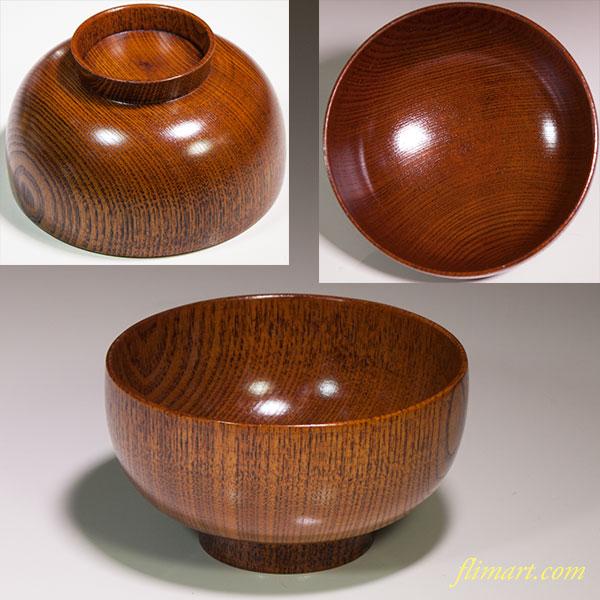 木製汁椀W4470