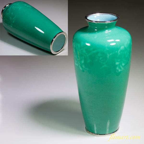 七宝花瓶W4485