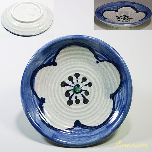 梅文小皿W4518