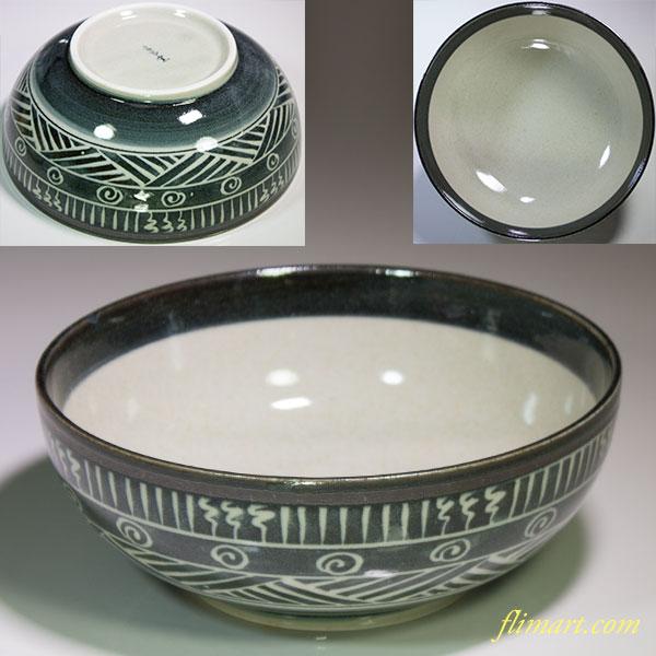 第一陶器三島六寸半鉢